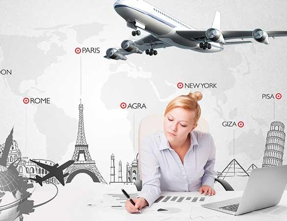 des agences de voyages