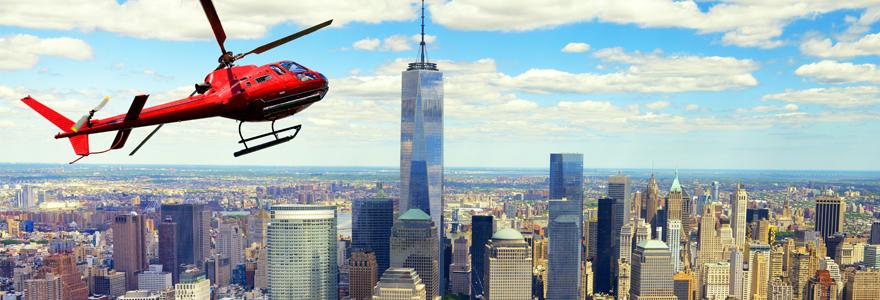 hélicoptère à New York